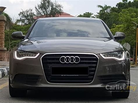 2013 Audi A6 2 0 Tfsi audi a6 2013 tfsi 2 0 in penang automatic sedan brown for