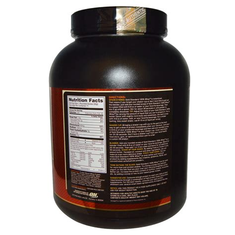 On Whey Gold Standard 5 Lbs Optimum Nutrition 5 Lbs optimum nutrition gold standard 100 whey milk chocolate 5 lbs 2 27 kg