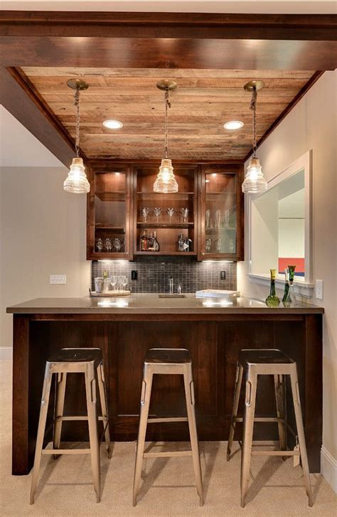 1000 ideas about rustic basement bar on pre