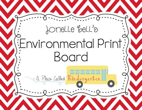 1000 Images About Preschool Environmental Print On