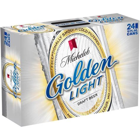 how many calories in a can of michelob golden light