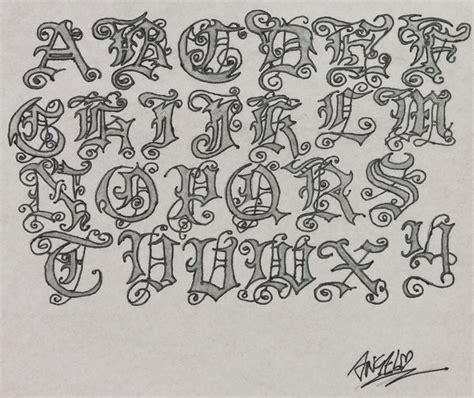 tattoo alphabet designs lettering interior home design