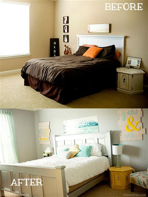 before and after bedrooms master bedroom makeover