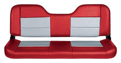 bass boat seats facebook tempress bench style boat seat red gray boat seats