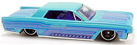 Hotwheels Lincolin Cotinental 1964 lincoln continental 82mm 2007 wheels newsletter