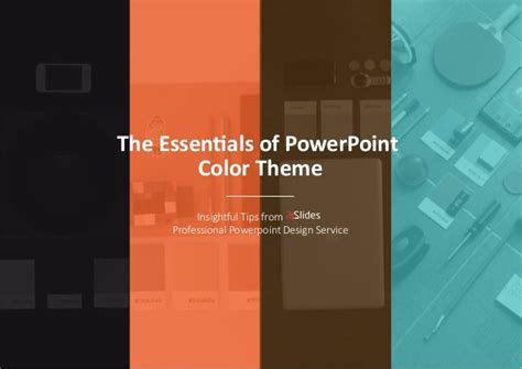 ppt color schemes the essentials of powerpoint color theme