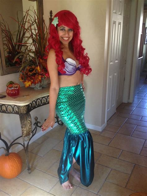 Handmade Mermaid Costume - diy ariel costume costumes
