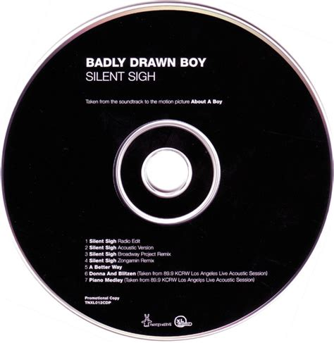 badly boy silent sigh acoustic version badly boy silent sigh cd at discogs