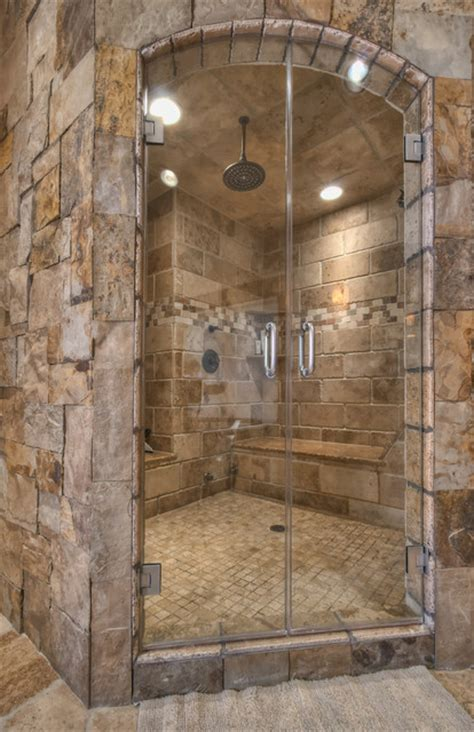 rustic bathroom shower ideas ranch at goldenview rustic bathroom other metro by