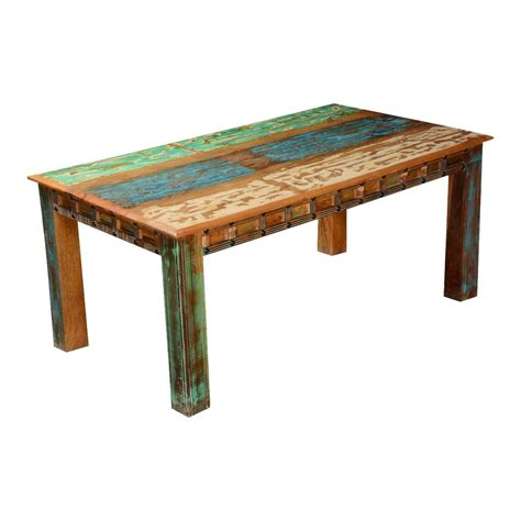 uncategorized incredible rustic red stained wooden shocking rustic rainbow reclaimed wood dining table for