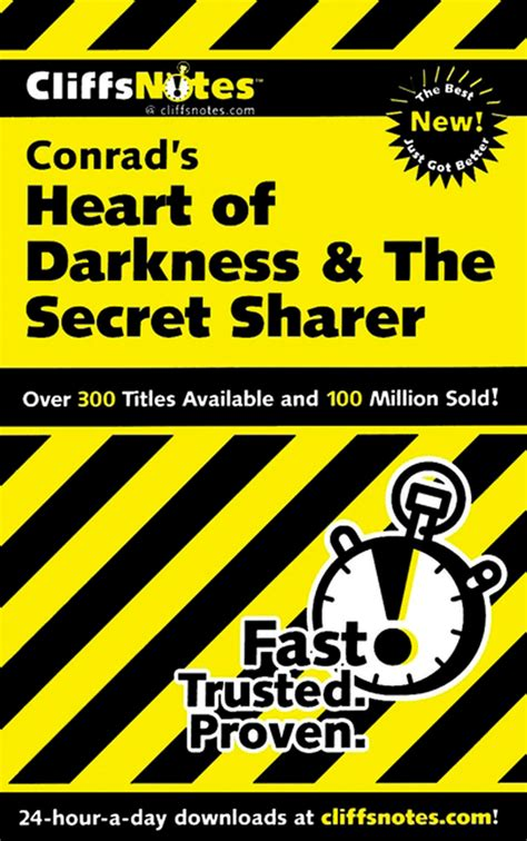 heart of darkness themes cliff notes cliffsnotes on conrad s heart of darkness the secret sharer