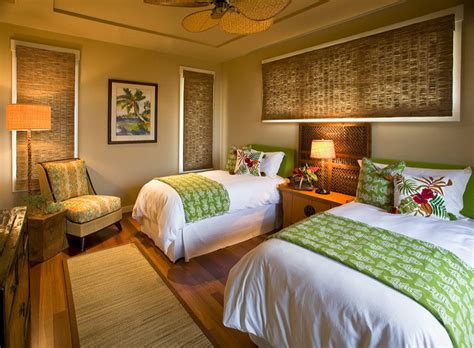 hawaiian cottage style tropical bedroom hawaii