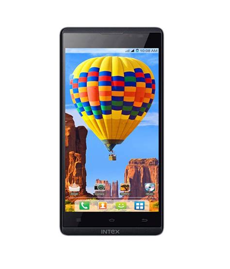 mobile hd intex aqua i5 hd black mobile phone mobile phones