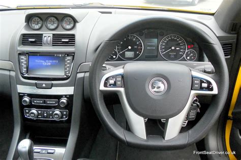 vauxhall vxr maloo vauxhall maloo vxr8 2012 dashboard front seat driver