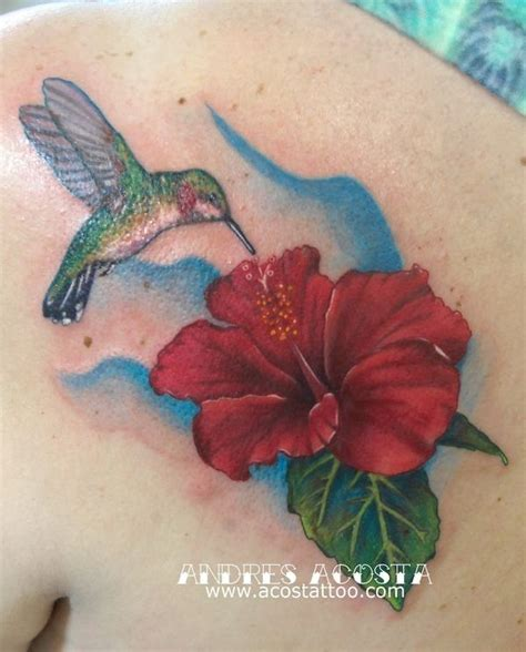 hibiscus hummingbird tattoo designs 22 best tattoos images on flowers