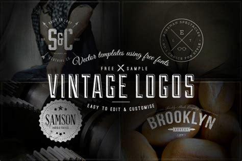 retro logo templates 13 free vector logo template sets hipsthetic