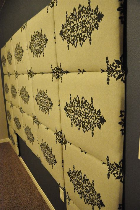 diy fabric covered headboard tutorial how to make a fabric headboard