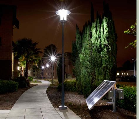 Walkway Lighting Fixtures Sepco Completes Led Solar Walkway Lighting Project At Usmc Base