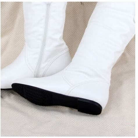 cheap flat boots 20 boots white flat boots my