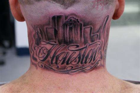 houston texas tattoos houston skyline