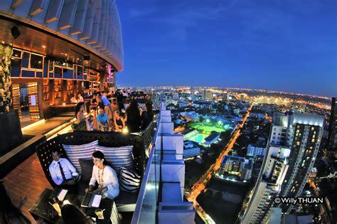 roof top bars in bangkok octave rooftop bar at bangkok marriott hotel sukhumvit sukhumvit sky bar with 360 views