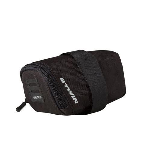 Decathlon 300 Bike Saddle Bag S 0 5l Black btwin saddle bag 300 0 5 l by decathlon buy at