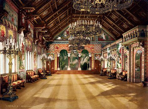 singers hall  room neuschwanstein castle upper