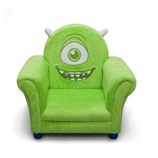 delta children disney pixar monsters upholstered chair