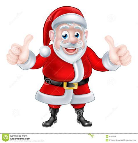 santa claus thumbs up thumbs up santa stock vector image 57304828