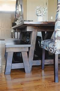 my 4 misters amp their sister diy handmade farmhouse table and benches with matching breakfast