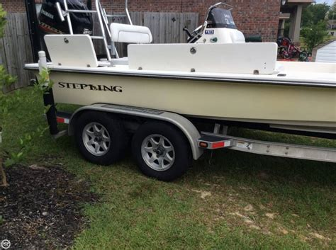 used sterling flats boats for sale 2007 used sterling powerboats 200xs flats fishing boat for