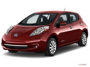 Nissan Leag 2016 Nissan Leaf Pictures Angular Front U S News