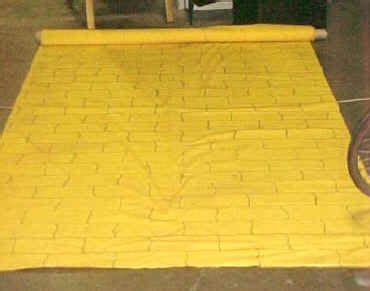 yellow brick road rug yellowbrickroad roll out carpet for grand openings 101 my beautiful boutique