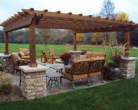 Front Yard Trellis Ideas Craftsman Style Pergola Ideas Pictures Remodel And Decor