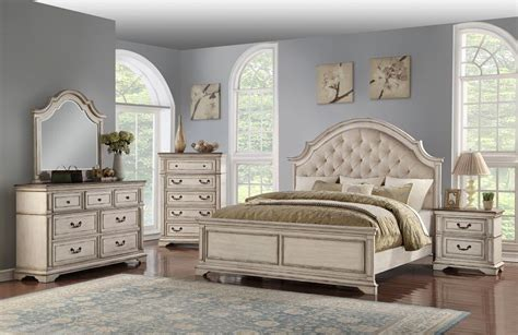 classic furniture anastasia  piece bedroom set  royal classic