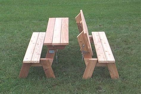folding picnic table and bench folding bench and picnic table combo shelby knox