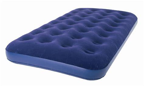 twin air mattress  electric pump plush inflatable