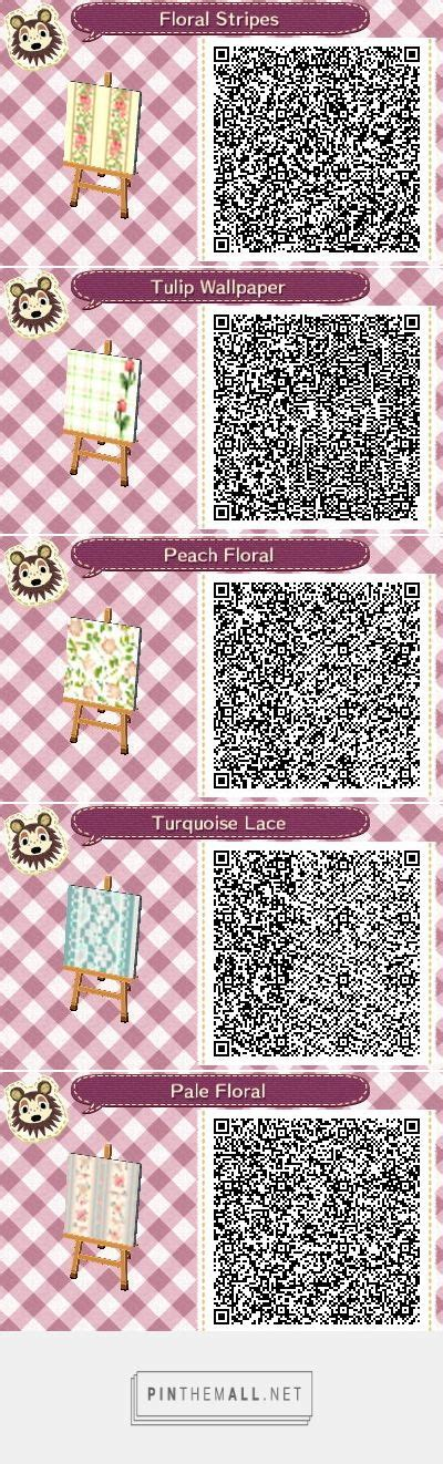 how to design walls in acnl acnl achhd qr code wall lovely floral elegant wallpaper