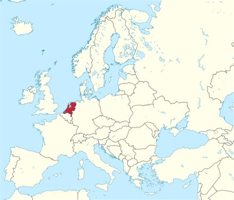 netherlands on a map of europe file netherlands in europe rivers mini map svg