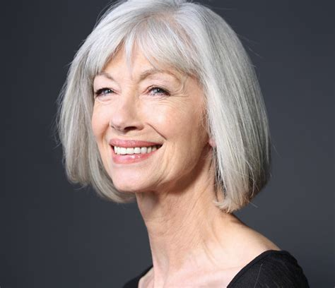 gray hair bob haircuts should i dye my gray hair hair world magazine