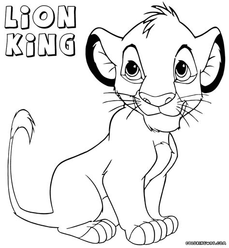 lion king coloring pages online game lion king coloring pages jacb me