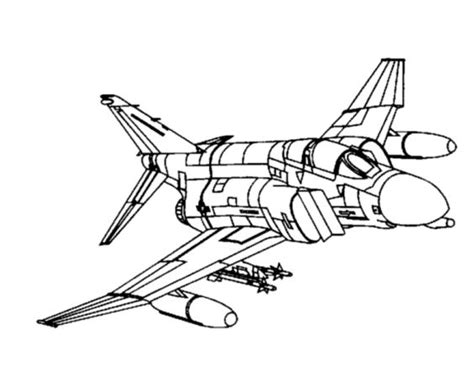 sketchbook f4 aircraft coloring pages arts and crafts