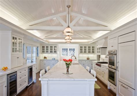 elegant long island kitchen design for a large scale room amazing and elegant white kitchen designs