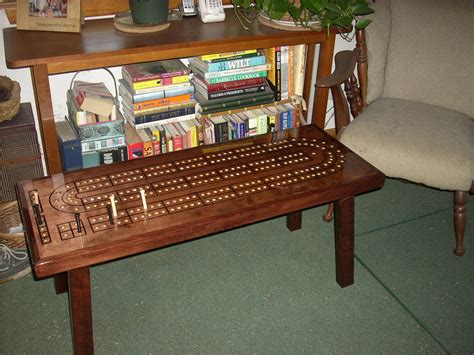 cribbage board coffee table cribbage table cribbage board coffee table mahogany minwax