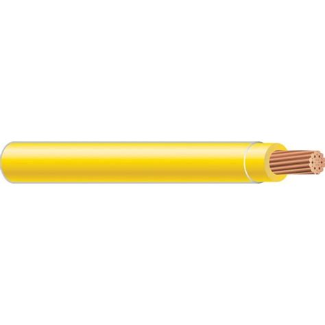 southwire 500 ft 8 yellow stranded thhn wire 23848512