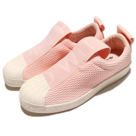 Adidas Slip On Import Made In Pink adidas originals superstar bw35 slip on w pink shoes sneakers by9138 kixify marketplace