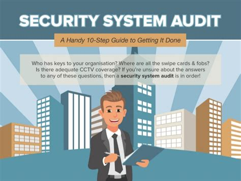 security system audit a handy 10 step guide to getting