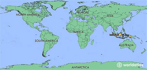 where is indonesia on the world map where is indonesia where is indonesia located in the