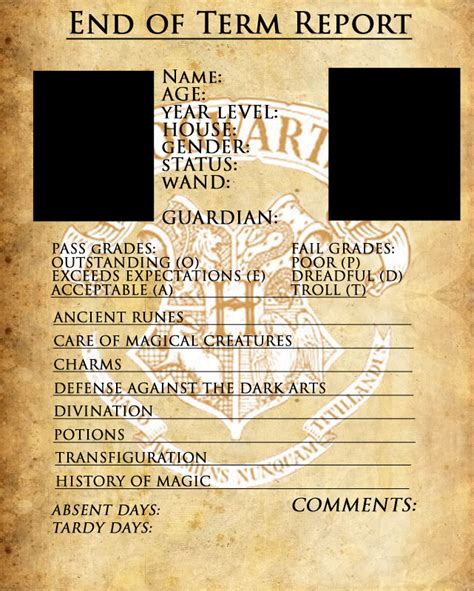 harry potter oc template hogwarts report card template by sarahsaintly on deviantart