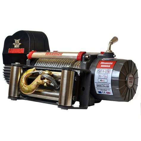 lada led 12 volt sportsman 1000 lbs winch w1000 the home depot